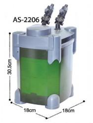 Astro - Astro 2206 Akvaryum Dış Filtre 600 L/H