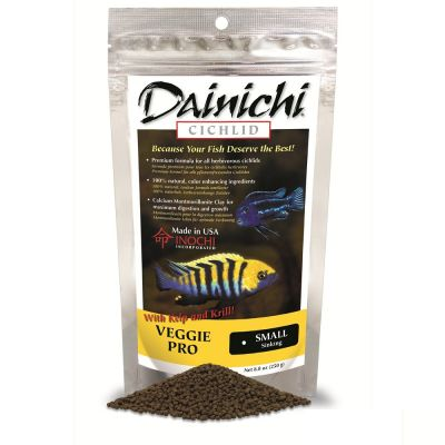 Dainichi Cichlid Veggie Pro Small 3 mm 100 Gr.