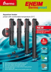 Eheim - Eheim Thermopreset 50 Watt Akvaryum Isıtıcısı