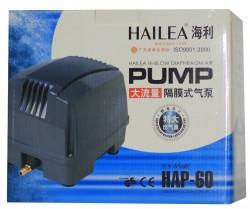 Hailea - Hailea Hap-60 Çok Çıkışlı Akvaryum Hava Motoru