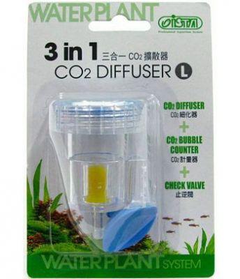 Ista 3in1 Co2 Difüzör Damla Sayacı+Valf+Kit Large