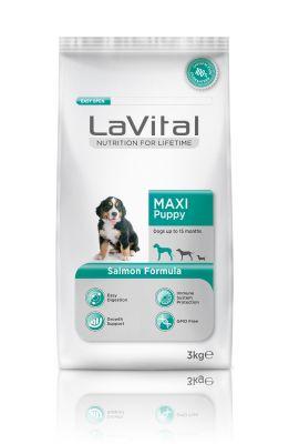 La Vital Büyük Irk Yavru Somonlu Köpek Maması 3Kg