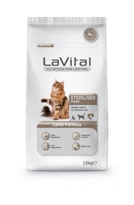 La Vital Kuzu Etli Yetişkin Kısırlaştırılmış Kedi Maması 1,5 Kg