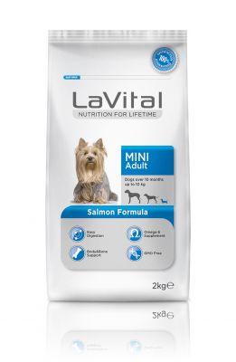 La Vital Somonlu Küçük Irk Yetişkin Köpek Maması 2KG