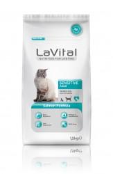 La Vital - La Vital Somonlu Yetişkin Hassas Kedi Maması 1,5 KG