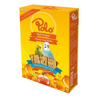 Polo Ballı Muhabbet Kuşu Krakeri 10 lu Paket