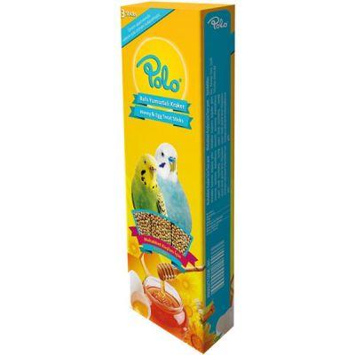 Polo Ballı Yumurtalı Muhabbet Kuşu Krakeri 3 lü Paket