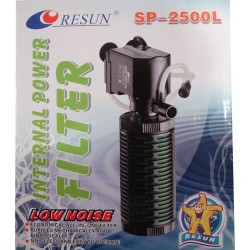 Resun - Resun SP-2500L İnternal Power Filter Akvaryum İç Filtre 1400 L/H