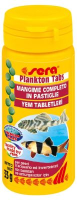 Sera Plankton Tabs Tablet Balık Yemi 50 ML