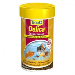 Tetra - Tetra Delica Bloodworms 100 ML