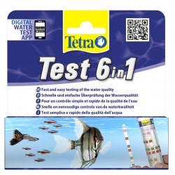 Tetra - Tetra Test 6 in 1 Tatlı Su Stip Stick 25 Adet