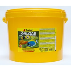 Tropical - Tropical 3-Algae Flakes 11 Lt. / 2000 Gram