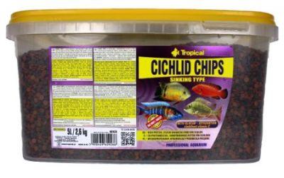 Tropical Cichlid Chips 5 Lt / 2600 Gram