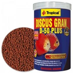 Tropical - Tropical Discus Gran D-50 Plus 500 Gram