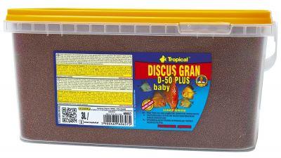 Tropical Discus Gran D-50 Plus Baby 1560 Gr / Kova