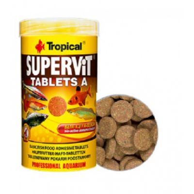 Tropical Supervit Tablets A 250 ML / 340 Adet