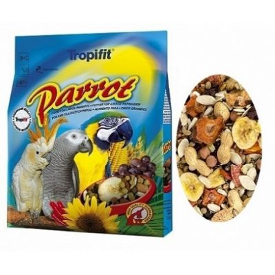 Tropifit Premium Parrot Papağan Yemi 1000 Gr.