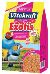 Vitakraft - Vitakraft Menü Premium Egzotik Finch Kuş Yemi 500 Gr.