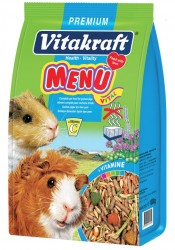 Vitakraft - Vitakraft Menü Vital Premium Ginepig Yemi 1000 Gr.